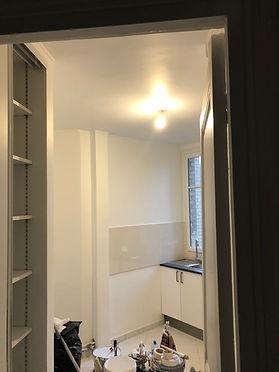 Rénovation complète d'un appartement suite à un dégât des eaux (Paris)