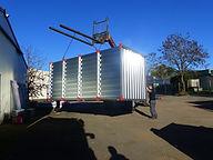 Montage d'un box de stockage à Mulsanne - FIMAD