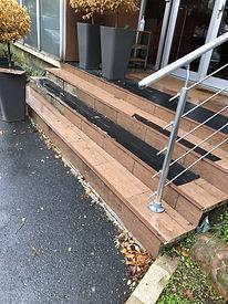 Escalier en maintenance - FIMAD