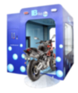 Automatic motorcycle bike wash