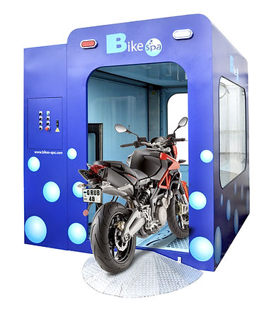 Automatic Bike wash machine