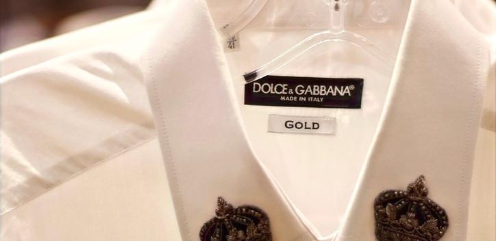 Men's Dolce & Gabbana Dress Shirts On Sale