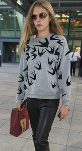 Super-Model-Wearing-McQ-Swallow-Sweatshirt