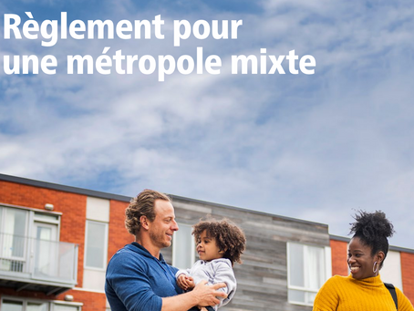 """City of Montreal's new """"Métropole mixte"""" bylaw now in effect starting this month"""