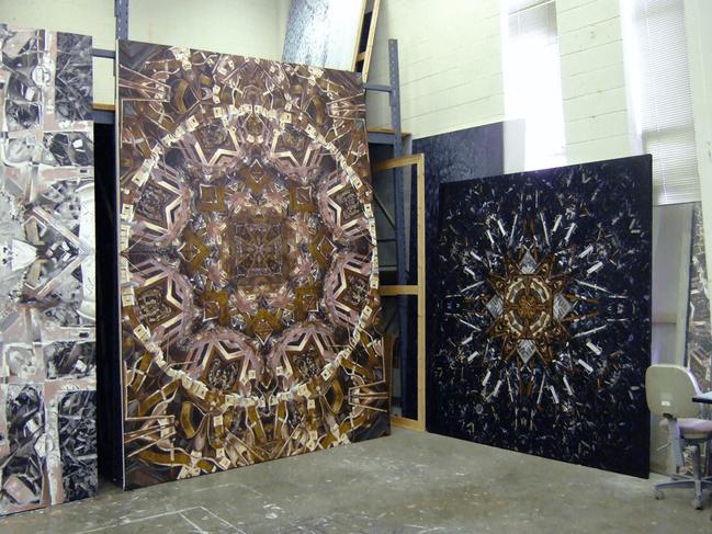 Mandalas in the studio