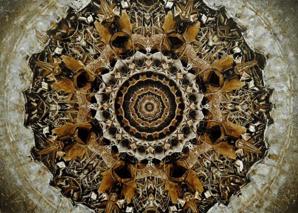 Mandala #31 Lotus of Rusts