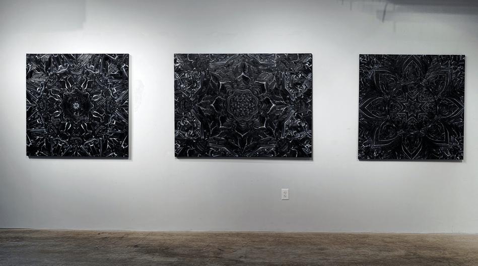Three Black Lotuses