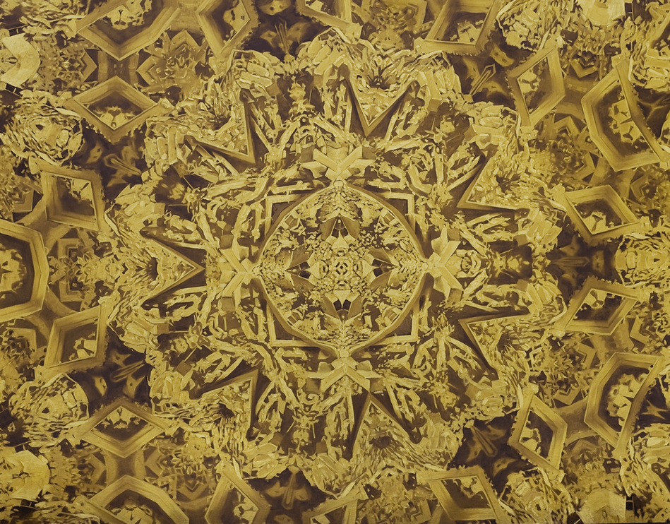 Mandala #1 Gold