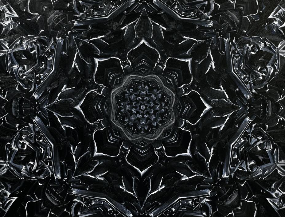 Mandala #41 Black Lotus