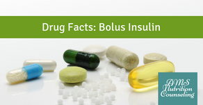 Drug Facts: Bolus Insulin