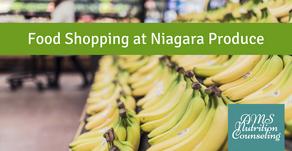 Food Shopping at Niagara Produce