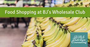 Food Shopping at BJ's Wholesale Club