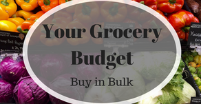 Your Grocery Budget: Buy in Bulk