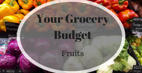 Your Grocery Budget: Fruit