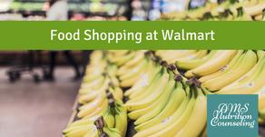 Food Shopping at Walmart