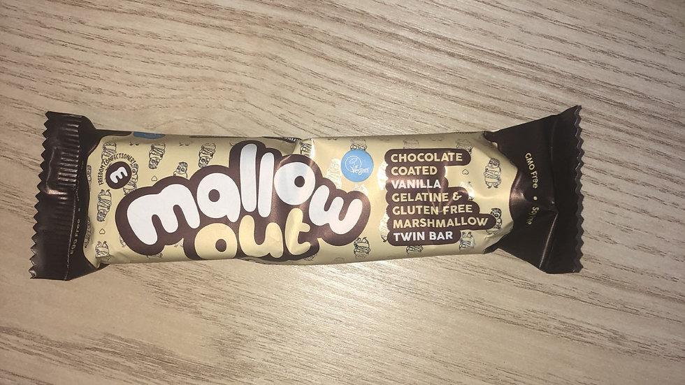 Mallow Out Chocolate Coated Vanilla Marshmallow Twin Bar