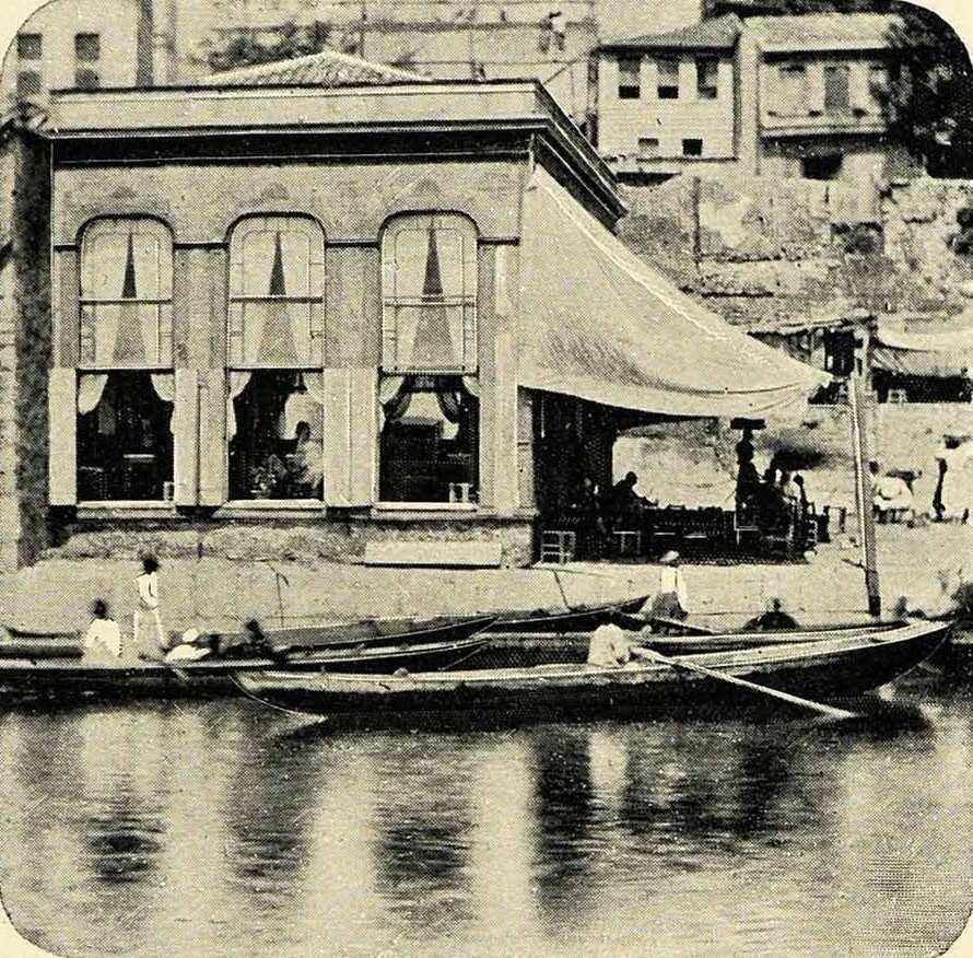 Haliç'te Kahvehane