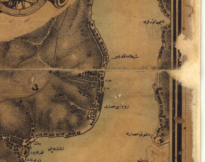 İstanbul B.B. Atatürk Kitaplığı Harita Arşivi, 487 (1851-1852) – Detay