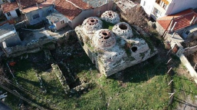 5 asirlik tarihi hamam edirne kesan