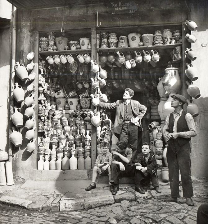 Eski İstanbul Çömlekçi