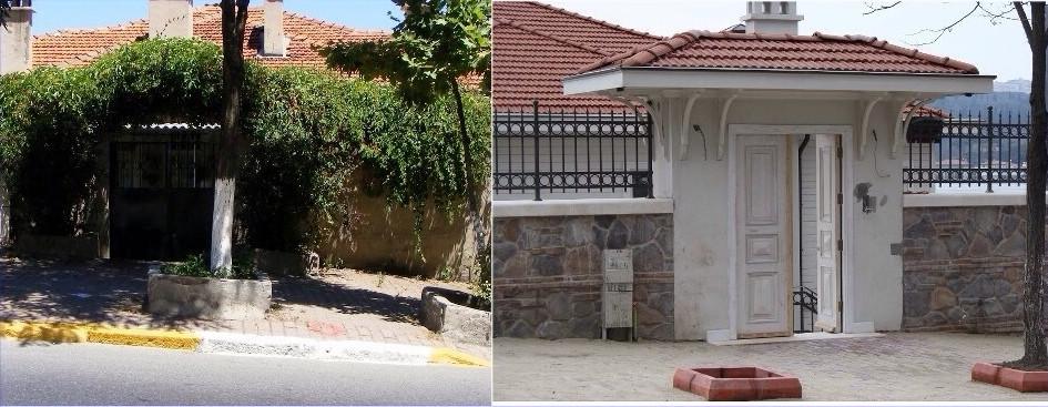 Giriş Kapısı Öncesi & Sonrası