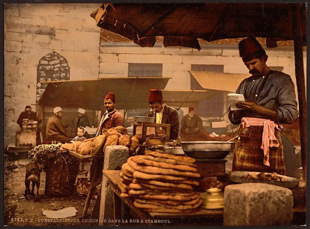 Eski İstanbul Sokak Satıcıları