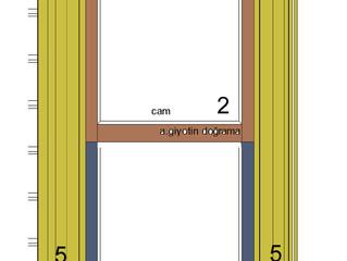 Ahşap Giyotin Pencere Detayı, Özellikleri ve Çalışma Şekli