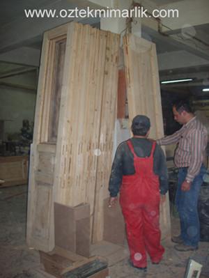 28 Ahşap Kapı Restorasyonu