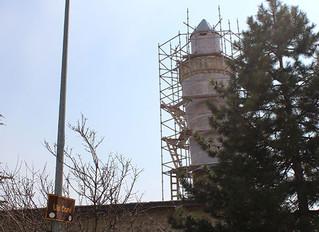 Minaresinin, İtalya'daki Pisa Kulesi'nden daha eğri olduğu tescil edilen Ulu Cami, restorasy