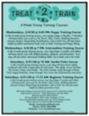 Pasadena Group Training Courses-Spring 2