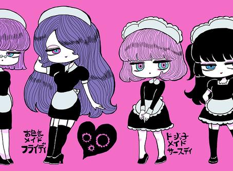 デザインキャラクターコミック化!