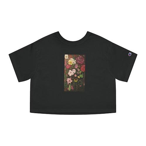Fanciwear Roses Cropped T-Shirt