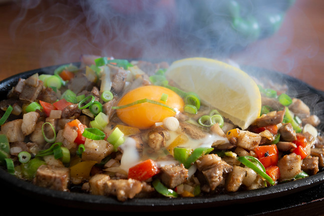 Filipino Food Pork Sisig