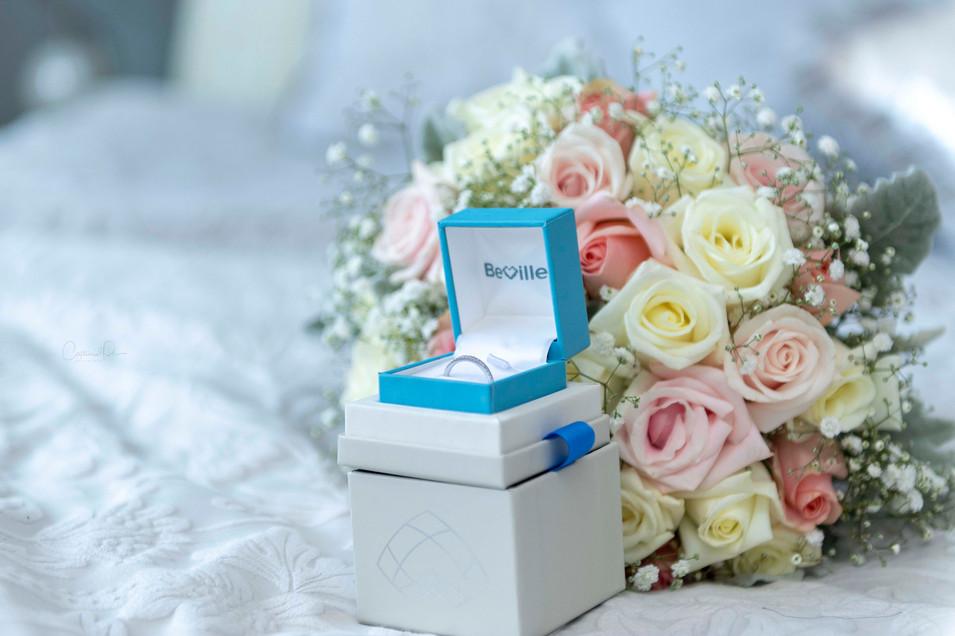 Wedding Ring & Bouquet