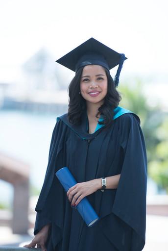 Just graduated!