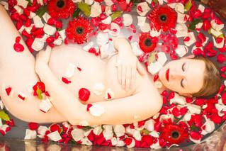 Jordan Maternity Milk Bath | Rixey Manor, Rixeyville Virginia Milk Bath Photographer
