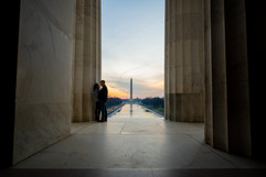 Washington DC Monument Engagement Photographer