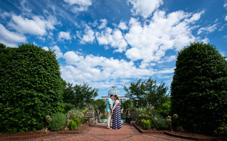Kristen & Matthew Engagement | Lewis Ginter Botanical Gardens, Richmond Virginia Wedding Photogr