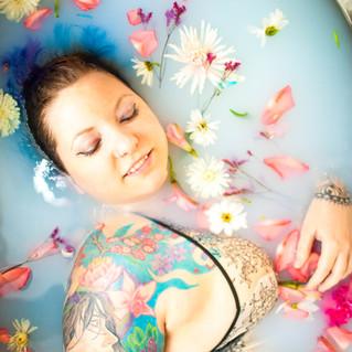 Rebecca Milk Bath | Rixey Manor, Rixeyville Virginia Milk Bath Photographer
