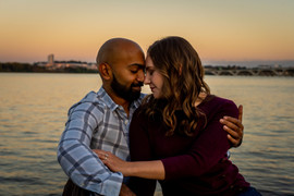 Old town Alexandria, Virginia engagement photographer
