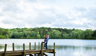 Sarah & Matt's Engagement | Mountain Run Lake, Culpeper Virginia Wedding Photographer