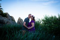 Skyline Drive Virginia Maternity Photographer