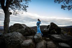 Skyline Drive Maternity Photographer