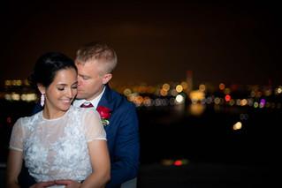 Ken & Mafer Wedding | Top of the Town Arlington, Virginia Wedding Photographer