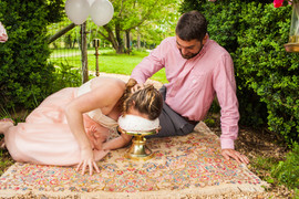 Rixey Manor Rixeyville Virginia Couples Adult Cake Smash Photographer