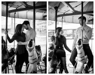 Kylie & Hunter | Burke Lake Park Engagement, Virginia Wedding Photographer