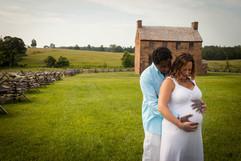 Manassas Battlefield Virginia Maternity Photographer