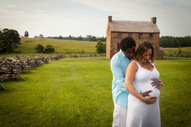Manassas Battlefield Virginia Maternity Photographer