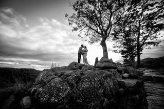 Dezirae & Patrick Maternity | Skyline Drive Maternity Photographer