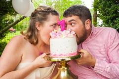 Rixey Manor Rixeyville Virginia Couples Adult Cake Smash Photographer